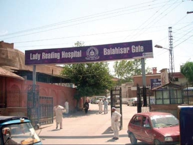 Peshawar's main healthcare facility silently bears the brunt of the war against militancy. PHOTO: FILE