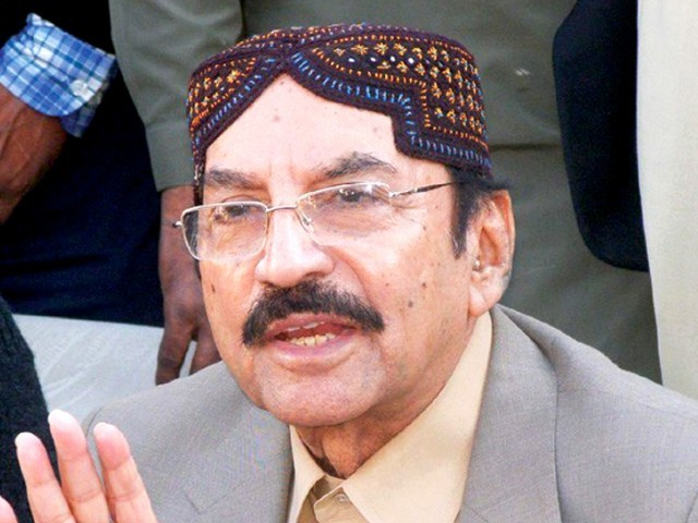 Qaim Ali Shah says PPP has served the people. PHOTO: FILE