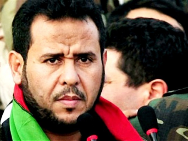 The former militant helped topple former Libyan leader Muammar Gaddafi in last year's revolt. PHOTO: REUTERS