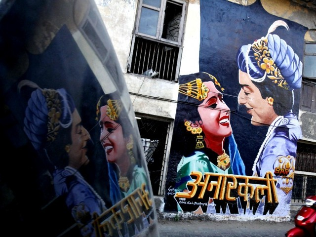 Mumbai is home of Bollywood but has no Bollywood flavour, we want to change that, say 'Anarkali' mural artists. PHOTO: REUTERS