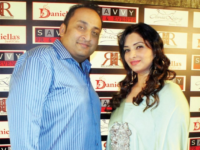 Aamir Mazhar and Nazia.PHOTO COURTESY SAVVY PR AND EVENTS