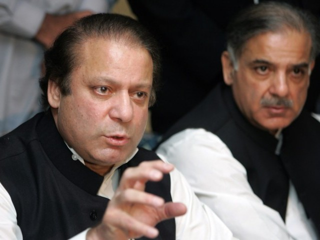The decision to initiate the inquiry against Nawaz Sharif and Shahbaz Sharif came after President Asif Ali Zardari gave the green signal. PHOTO: TMN/FILE