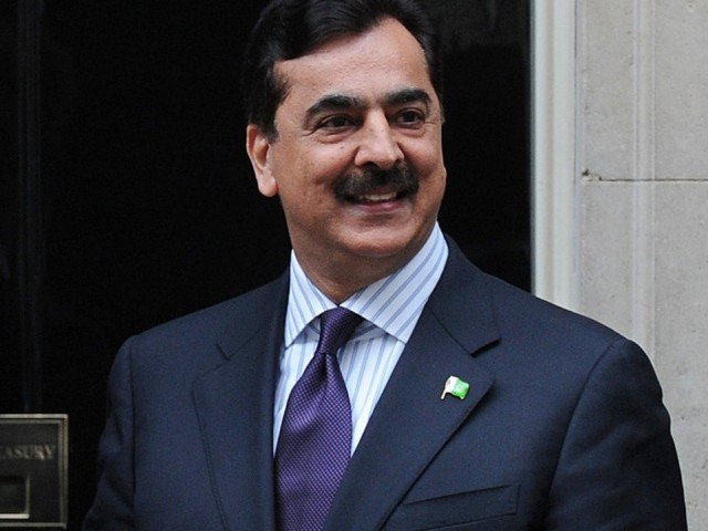 Gilani questions why provincial governments did not take steps for generating power. PHOTO: AFP/FILE