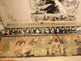 Gori's paintings are also older than any other surviving frescos in Pakistan, with the possible exception of some Gandhara fragments. PHOTO: ATHAR KHAN/EXPRESS