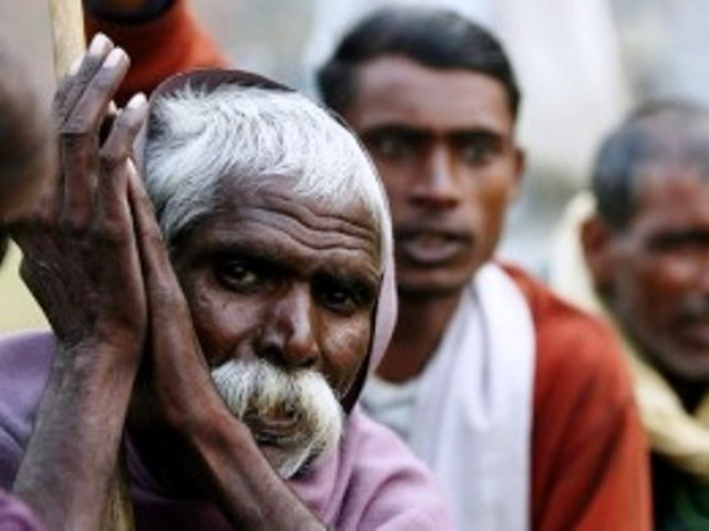 The Dalit with the cut hand says he was harmed for drinking from a pot meant for higher castes. PHOTO: REUTERS