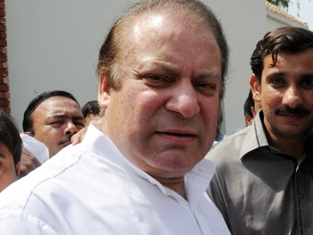PML-N chief vows to make a 'new Pakistan', says country's future is in danger in the hands of current rulers. PHOTO: NNI/ FILE