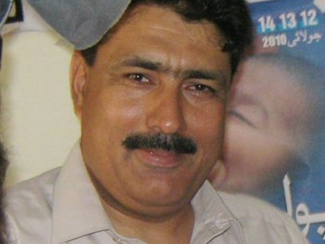 File photo of Dr Shakil Afridi. PHOTO: EXPRESS