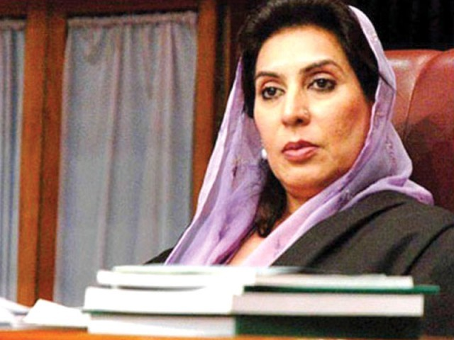NA Speaker Dr Fehmida Mirza decides against forwarding SC's reference to election commission. PHOTO: FILE