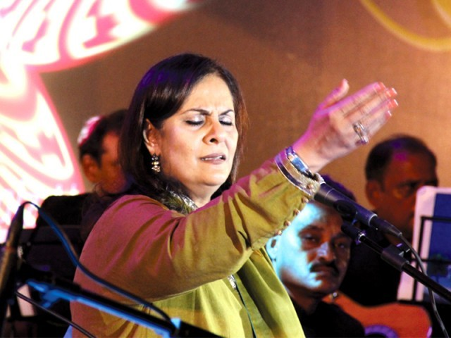 Singer Tina Sani tells all about her much-lauded music career. PHOTO: AYESHA MIR/EXPRESS