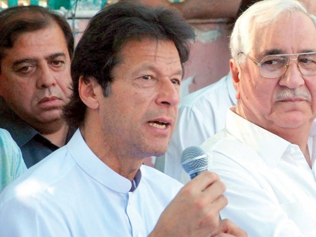 People in power should pursue austerity; should restrict their expenses, says Khan. PHOTO: INP/ FILE