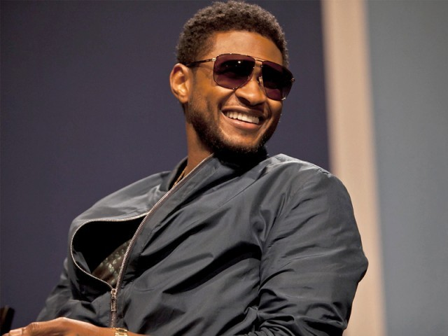 Usher, one of the most popular R&B artists, is looking to take his music to a new level with his latest album. PHOTO: FILE