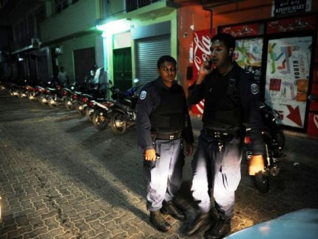 Maldivian telecommunications authorities had blocked his blog last year claiming it contained anti-Islamic material. PHOTO: AFP