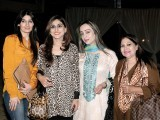 Sonia, Nazia, Sadaf and Riffat.PHOTO COURTESY SAVVY PR AND EVENTS