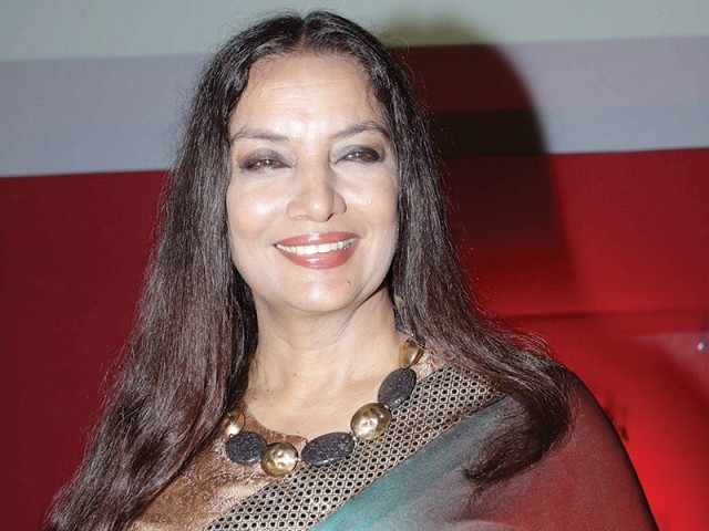 Actor Shabana Azmi says it's time Indian cinema stopped changing itself to match international criterion. PHOTO: FILE