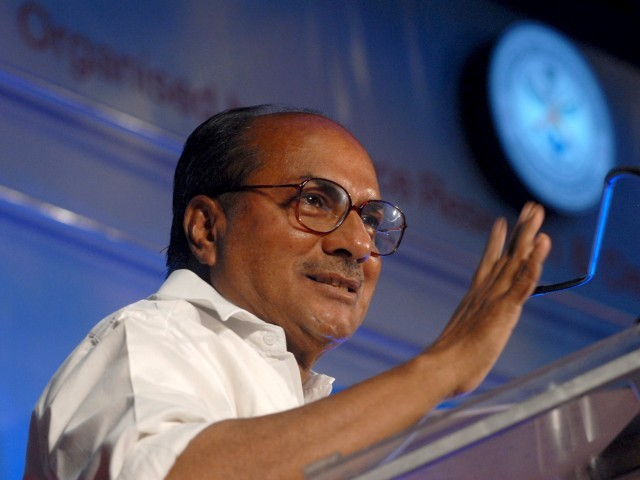 AK Antony says defence secretaries meeting unlikely to break impasse. PHOTO: EPA/FILE