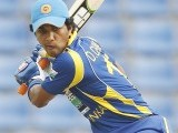 Sri Lanka's Dinesh Chandimal plays a shot during their second One Day International cricket match against Pakistan in Pallekele June 9, 2012. PHOTO: REUTERS