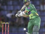 Azhar Ali plays a shot during their second One Day International (ODI) cricket match against Sri Lanka. PHOTO: REUTERS