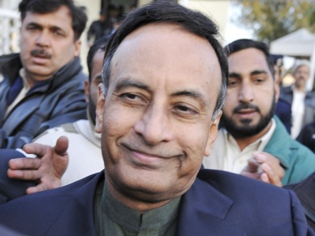Haqqani had filed application in Supreme Court to have his statement recorded abroad via video link. PHOTO: AFP/FILE