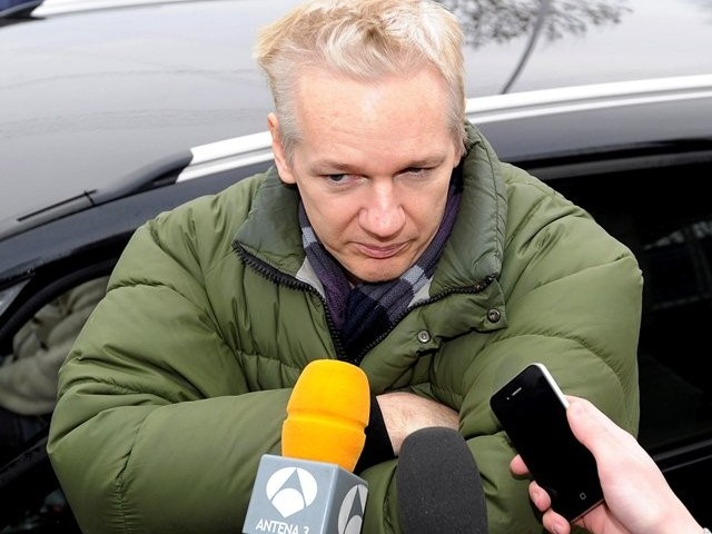 Assange has challenged his extradition ruling. PHOTO: REUTERS