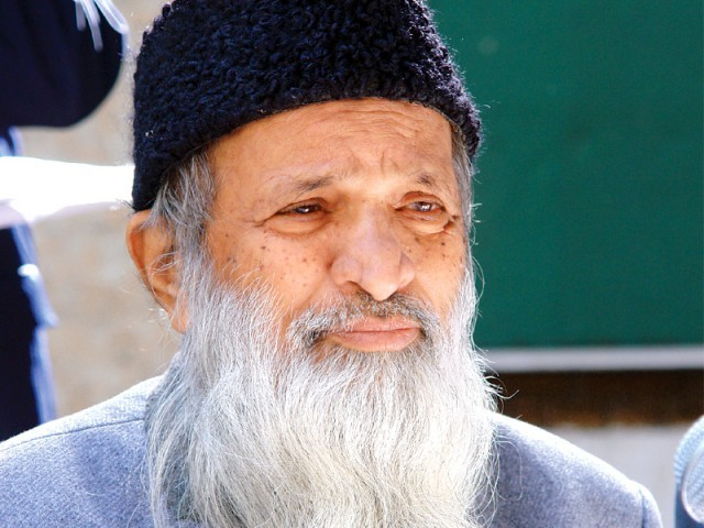 Abdul Sattar Edhi faces abduction threat, authorities reveal