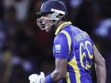 Mathews celebrates after winning the final One Day International (ODI) cricket match. PHOTO: REUTERS