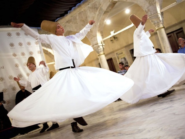 Dervish, Sultanahmet. PHOTO: MYRA IQBAL/ THE EXPRESS TRIBUNE