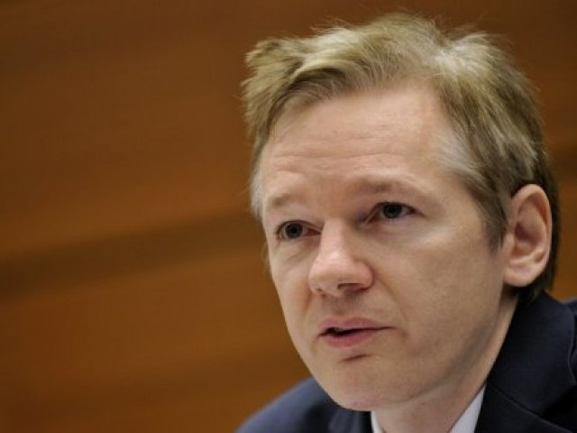 WikiLeaks founder Julian Assange. PHOTO: AFP