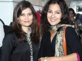 Afreen Shiraz and Sumeha Khalid.PHOTO COURTESY IDEAS EVENTS PR