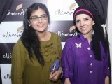 Erum and Sabeen.PHOTO COURTESY IDEAS EVENTS PR
