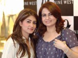 Mehwish Shahid and Musarrat Shahid.PHOTO COURTESY CATALYST PR