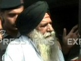 After 27 years of imprisonment, Singh steps on native soil for the first time. PHOTO: EXPRESS