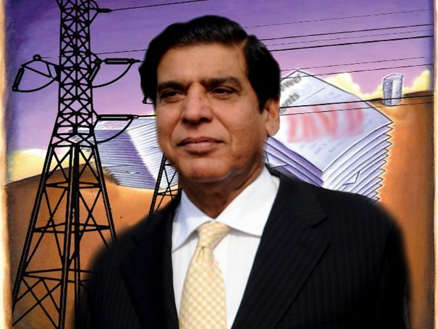 Pervaiz Ashraf says loadshedding being done proportionately, on basis of 'allocated quota'. PHOTO: FILE