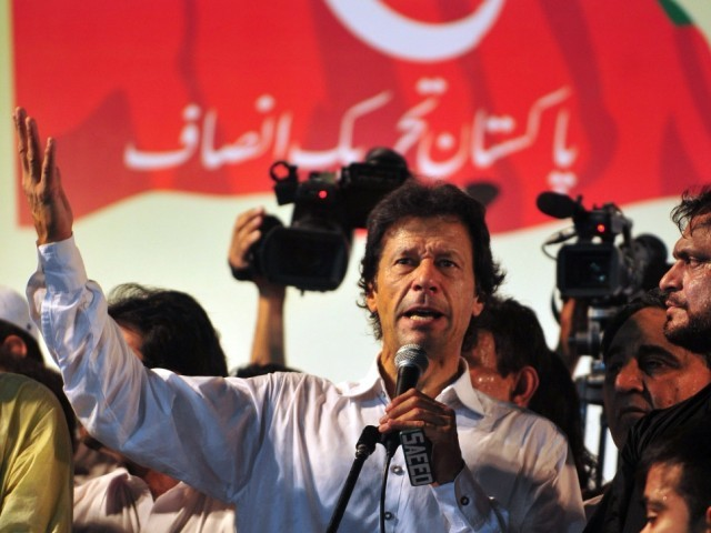 Favourable ratings for Khan increased by 18% over the last two years: survey. PHOTO: AFP/ FILE