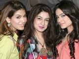 Amna, Simky and Alizeh.PHOTO COURTESY SAVVY PR AND EVENTS