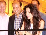 Mango CEO, Abid Umer and actor Mahira Khan at store launch. PHOTO: EXPRESS