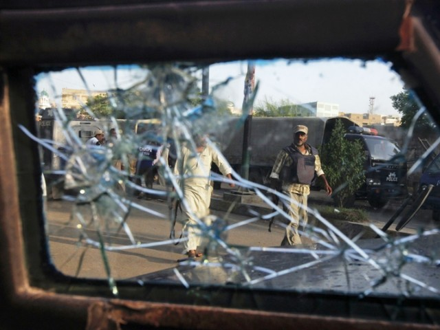 Unknown assailants on motorcycles opened fire on bus carrying people to Iran. PHOTO: AFP/ FILE
