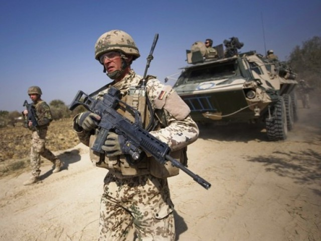 Parliamentary team apprises British leaders on concerns about the Afghan endgame. PHOTO: AFP/FILE
