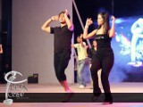 Ali Zafar rehearsing for the show with actress Humaima Mallick. PHOTO: TWITTER