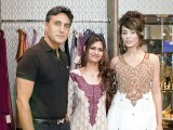 Adnan Siddiqui, Mehwish and Ayyan.PHOTO COURTESY SAVVY PR AND EVENTS