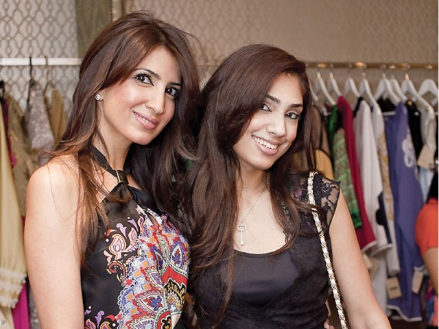 Amina and Najwa.PHOTO COURTESY SAVVY PR AND EVENTS