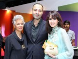 Maheen Khan, Deepak Perwani and Arjumand Rahim.PHOTO COURTESY SHAKEEL JAFFER