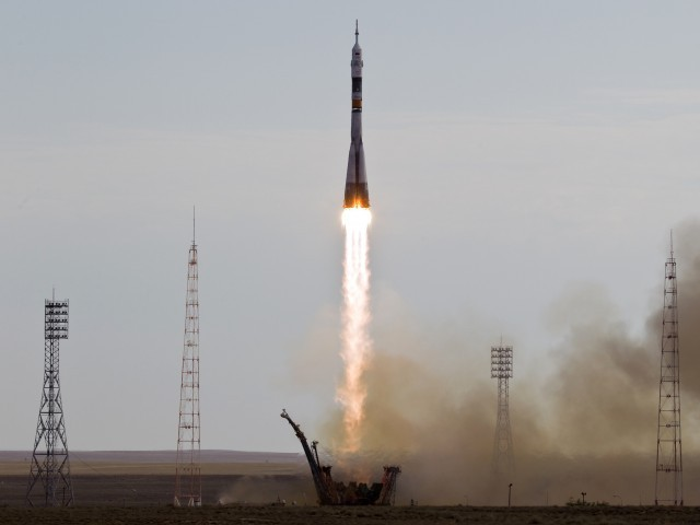 The rocket will reach the International Space Station after a two day journey. PHOTO: REUTERS