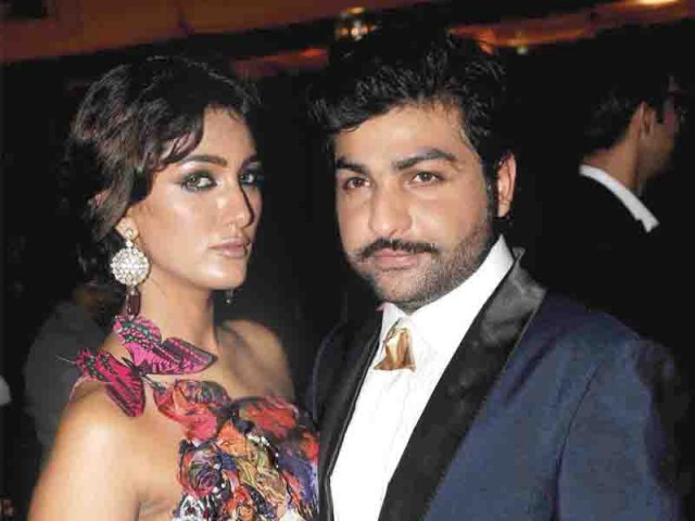 Mathira and Ali Xeeshan.PHOTO COURTESY CATALYST PR