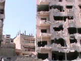 Damaged buildings are seen in Homs, Syria. PHOTO: REUTERS