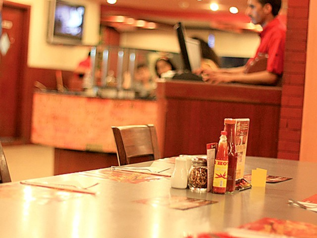 The US-based restaurant chain is the largest pizza chain operating in Pakistan with a network of 44 outlets across the country. PHOTO: FILE