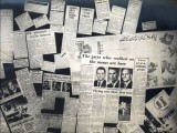 Press clippings of the Apollo mission's visit to Pakisan. PHOTO: US CONSULATE LAHORE WEBSITE