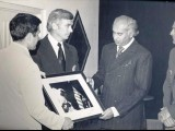 President Zulfiqar Ali Bhutto meets the Apollo mission during their visit to Pakistan in 1973. PHOTO: US CONSULATE LAHORE WEBSITE
