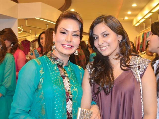 Sadia Imam and Khadija.PHOTO COURTESY TAKE II
