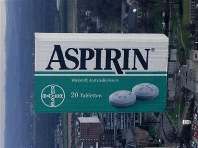 A new study strengthens the case that Aspirin can help in warding off cancer. PHOTO: REUTERS/FILE.