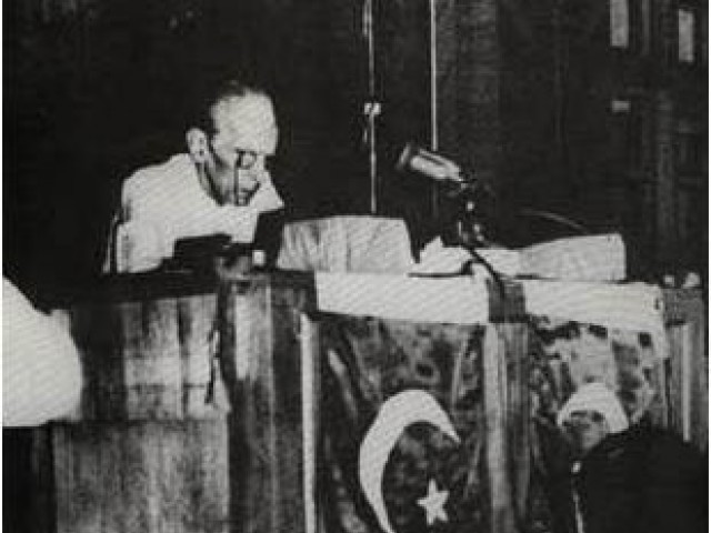 The original recording of Jinnah's address to the Constituent Assembly has gone missing.